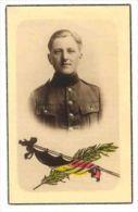 GUERRE 1940/1945 / ARMEE BELGE Soldat Raymond Thomsin  Cassel - Faire-part