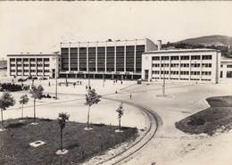Postcard Sarajevo Bosnia Yugoslavia Railway Train Station Railroad - Bosnie-Herzegovine