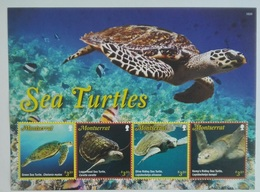 Montserrat 2016** Klb.1823-27. Sea Turtles MNH [1,31] - Turtles