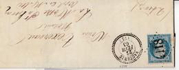 N° 22   /L  (. ) GC 4118 Bien Apposé De VAUTEBIS / 22.2.63-> Mothe-XT- HERAYE  ( Pothion Indice19 ) - Marcophilie (Lettres)