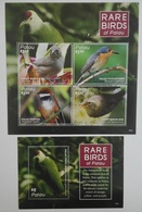 Palau 2016** SH, SS 1621. Rare Birds Of Palau MNH [1;33, 34] - Oiseaux