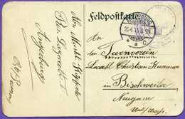 Pologne - Feldpostkarte Geschikt Aus Wegorzewo - Angerburg - Nach Turnverein In Bischweiler - Bischwiller - Pologne