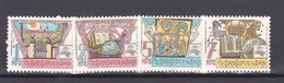 1988 Philatelist Exhibition  Mi.2957/60 4v.- MNH Czechoslovakia - Expositions Philatéliques
