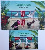 Grenada 2016** Klb.7345-48 + Bl.926. Caribbean Sea Birds MNH [1;35,36] - Oiseaux