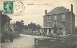 12 - LAISSAC - Avenue De La Gare - Passage à Niveau 1908 - Autres Communes