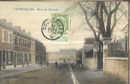 BELGIQUE    Courcelles  Rue Du Ballon      édition Albert Lemaître     CPA 1910 - Courcelles