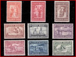 """Congo 0150/58* Caritas """"Goutte De Lait"""" H - Congo Belge"""