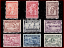 "Congo 0150/58* Caritas ""Goutte De Lait"" H - Belgisch-Kongo"