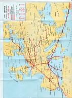 Carte Recto/verso Des Lignes Aériennes Air France  Hiver 1935/36   Neuve - World