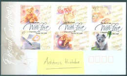 AUSTRALIA  - FDC - 1.9.1999 - WITH LOVE - Yv 1767-1772 - Lot 18617 - Premiers Jours (FDC)