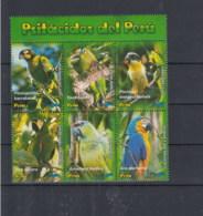 Peru (BBK) Michel Cat.No. Mnh/** 2090/2095 Birds - Peru