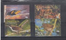 St.Lucia (BBK) Michel Cat.No. Mnh/** 1142/1145 Birds - St.Lucia (1979-...)