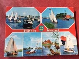 Nederland. Zeilen In Friesland - Zeilen
