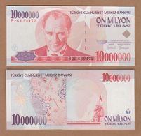 AC - TURKEY - 7th EMISSION 10 000 000 TL B UNCIRCULATED - Turkey