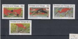 Trinidad And Tobago (BBK) Michel Cat.No. Mnh/** 596/599 Birds - Trinité & Tobago (1962-...)