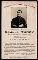 Dieuze (Lorraine) - Mort Au Champ D'Honneur Le 19 Août 1914 - Décès