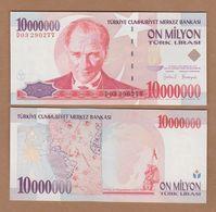 AC - TURKEY - 7th EMISSION 10 000 000 TL D UNCIRCULATED - Turquie