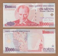 AC - TURKEY - 7th EMISSION 10 000 000 TL E UNCIRCULATED - Turquie