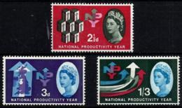 Gran Bretaña Nº 367A/9A En Nuevo - 1952-.... (Elizabeth II)