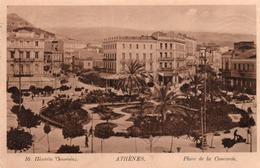 ATHENES-PLACE DE LA CONCORDE-1913 - Grecia