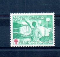 Vietnam Du Sud. Lutte Contre La Tuberculose - Viêt-Nam