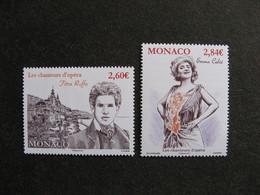 Monaco:  TB Paire  N°3096 Et 3097 , Neufs XX . - Monaco