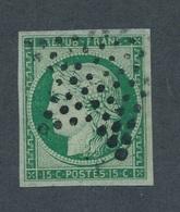 CI-3: FRANCE: Lot Avec N° 2b Obl (vert Foncé Obl étoile) - 1849-1850 Cérès