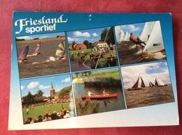 Nederland. Friesland Sportief ( Zeilen Surfen Kanovaren ) - Postkaarten