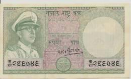 NEPAL P. 17 5 R 1972 AUNC - Népal