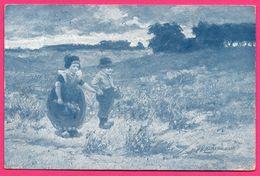 Illustrateur Gerstenhauer - Promeneurs Avec Sabots - MORRS GEUZE - W. DE HAAN Serie 52 6 Dessins - 1908 - Andere Illustrators