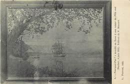 Themes Div-ref Z339-bateaux-voiliers -voilier Le Pourquoi Pas -expeditions Polaires - Pole Sud -tableau De P Mascart - - Segelboote
