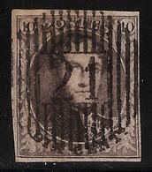 """Distribution """"21 """" (Havelanges) Superbe!, #a1582 - 1858-1862 Medaillen (9/12)"""