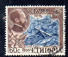 ETP61B - ETIOPIA 1951 , Yvert  N 294  Usato. - Etiopia