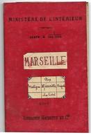 Ministère De L'intérieur Carte 1/100 000 Marseille, Aix, Martigues, Brignoles, La Ciotat De 1911 - Europe