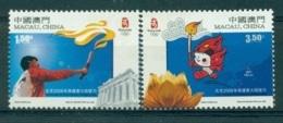 MACAO CHINE 1399/400 Beijing 2008 - Jeux Olympiques D'été - 1999-... Région Administrative Chinoise