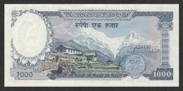 NEPAL P. 21 1000 R 1972 UNC - Népal