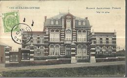 BELGIQUE    Courcelles  Centre   Maison Alexandre Pieron     édition Albert Lemaître     CPA 1910 - Courcelles