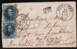 "Preception "" 97 "" -  "" POPERINGHE ""    , #a1586 - 1858-1862 Médaillons (9/12)"