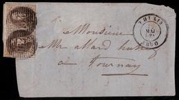 "Preception "" 164 "" Claire "" THULIN ""   , #a1587 - 1858-1862 Médaillons (9/12)"