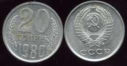 RUSSIE RUSSIA  20 Kopek 1980 - Russie