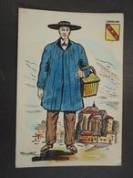 Cartes Folkloriques De France LORRAINE. - Costumes