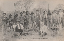 NATIVES OF WEST AUSTRALIA GOLDFIELDS 115H - Aborigènes