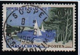 """SITES ET MONUMENTS - 30c  """"Arcachon""""   N° 1312 8Obl. - France"""