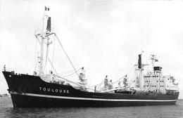"""¤¤  -  Cliché Du Bateau De Commerce """" TOULOUSE """"  -  Cargo   -   Voir Description     -  ¤¤ - Commerce"""