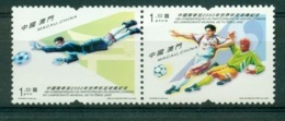 MACAO CHINE 1098/99 Coupe Du Monde De Football 2002 - 1999-... Région Administrative Chinoise