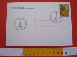 A.04 ITALIA ANNULLO - 2002 CASTELLETTO CERVO BIELLA COLORI E SAPORI DELLE NOSTRE TERRE FOTOGRAFICO FOTO PHOTO OBELISCO - Monumenti