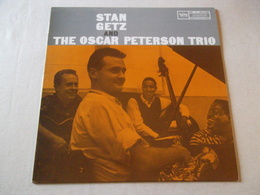 VINYLE 33 T STAN GETZ AND THE OSCAR PETERSONTRIO POLYDOR 2304 440 - Jazz