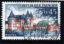 """SITES ET MONUMENTS - 45c  """"Sully-sur-Loire""""   N° 1313 8Obl. - France"""