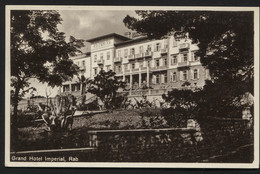 KINGDOM YUGOSLAVIA-The Kingdom Of Serbs,Croats And Slovenes- RAB - Grand Hotel Imperial-VINTAGE POSTCARD,1930 (APAT#201) - Yugoslavia