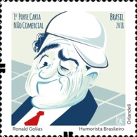 Ronald Golias - Brazilian Humorist - Unused Stamps